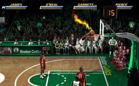 NBA Jam sur Wii