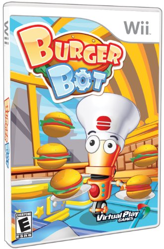 Wii #2486 - Burger Bot (USA)