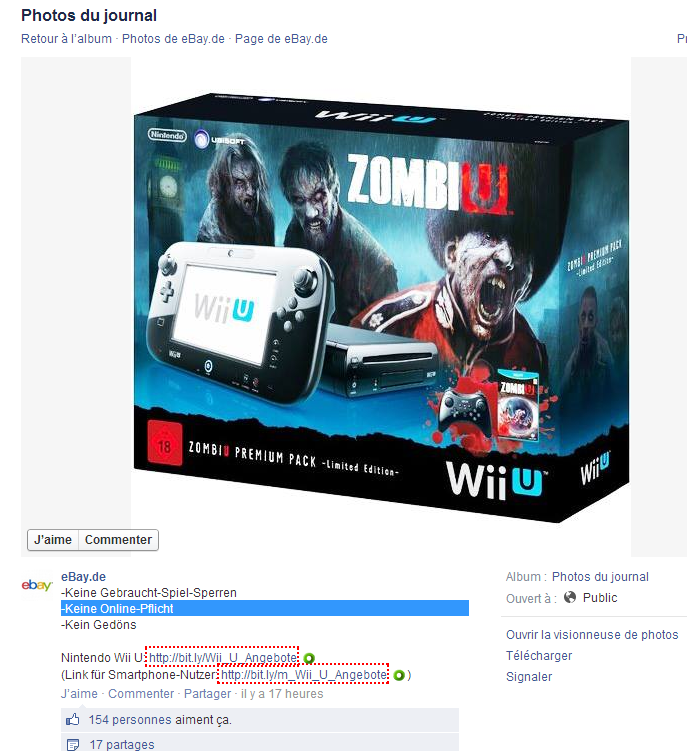 Quand Ebay troll la Xbox One, et fait la pub de la Wii U