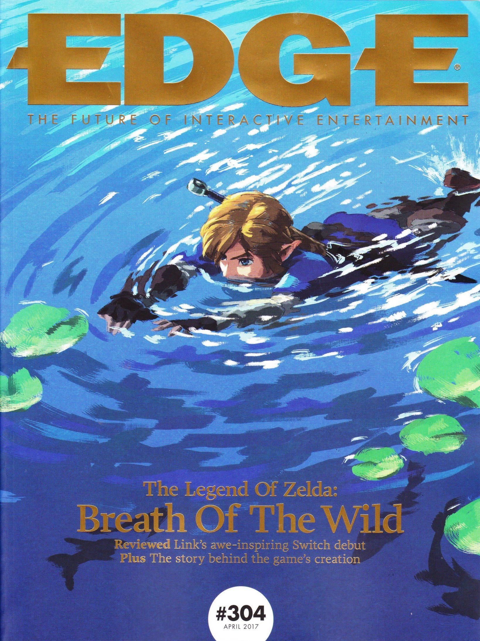Edge donne un 10 10 à Zelda Breath of the Wild