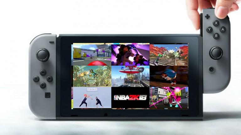 La barre des 100 jeux annoncés sur Switch atteinte