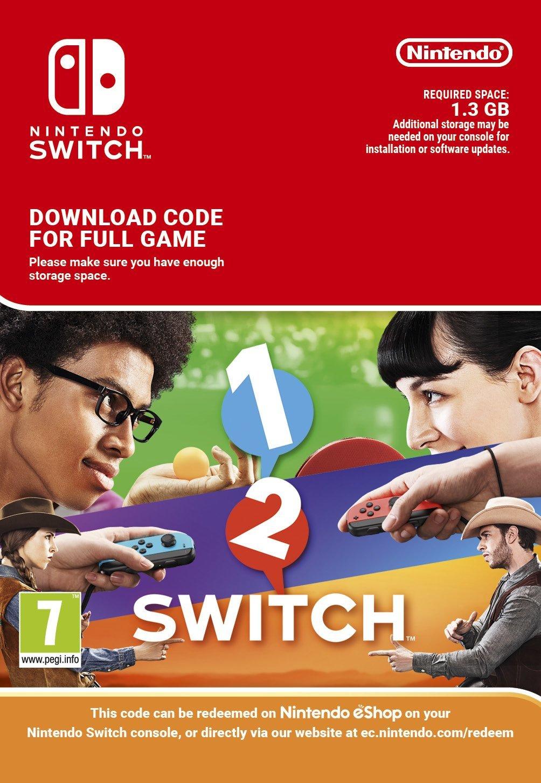 Le poids de 1-2 Switch connu