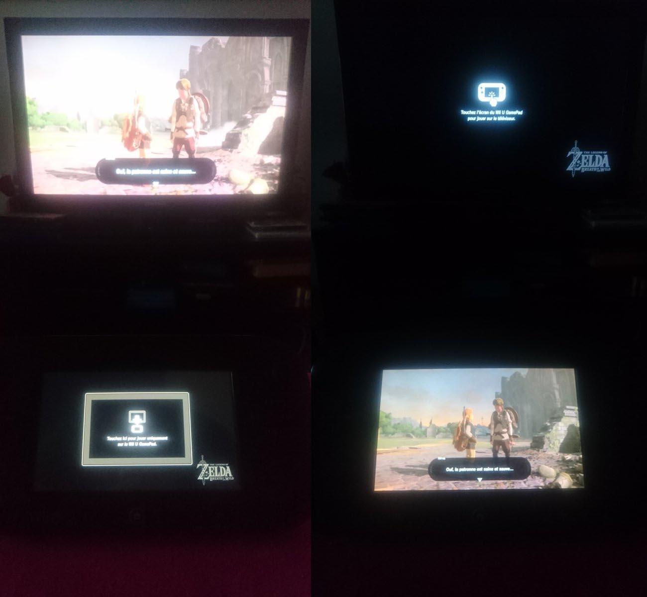 Zelda BOW sur Wii U, un mauvais portage de la version Switch