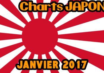 Les 30 jeux les plus vendus au Japon en Janvier 2017