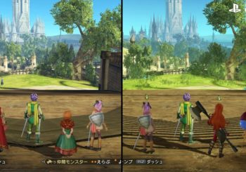 Dragon Quest Heroes II comparaison PS4 PS Vita Switch