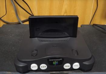 Il transforme sa Nintendo 64 en dock Switch fonctionnel