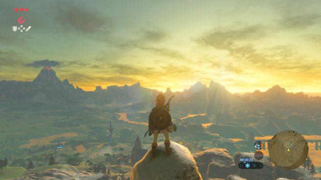 La carte de Zelda Breath of the Wild est basée sur Kyoto 2