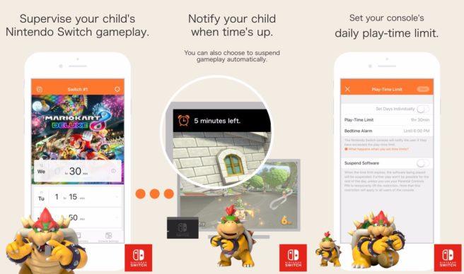 L'appli Contrôle parental Switch dispo sur Android et iOS
