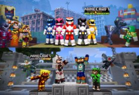 Minecraft: Wii U Edition – Aperçu du Power Rangers Skin Pack