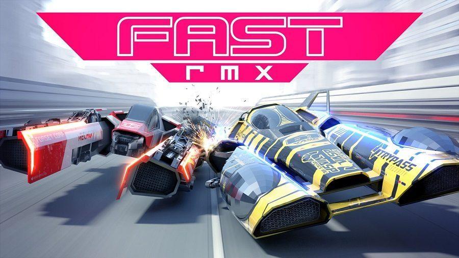 Nouvelle vidéo de gameplay pour FAST RMX avec du multi local