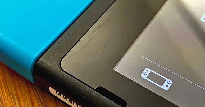 Prévoyez la protection écran pour votre Switch