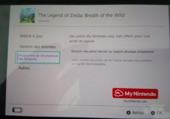 Recevoir des points My Nintendo pour les achats physiques