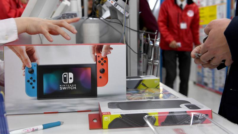Record historique de vente pour la Switch en France 105 000 ventes