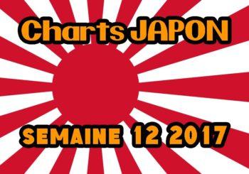 Ventes Japon semaine 12 2017
