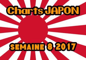 Ventes Japon semaine 8 2017