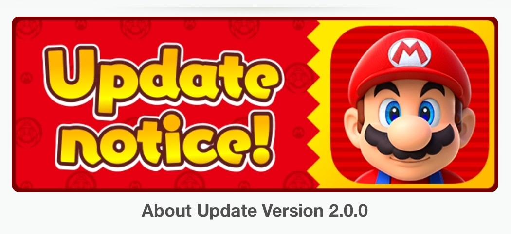 Super Mario Run 2.0 + Date de sortie Android