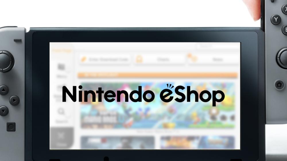 Voilà à quoi ressemble l'eShop sur Switch