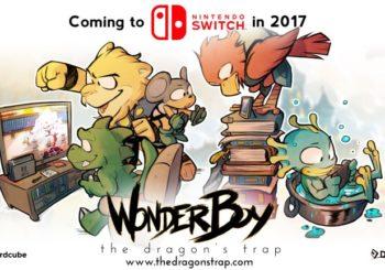 Wonder Boy: The Dragon's Trap daté sur Switch