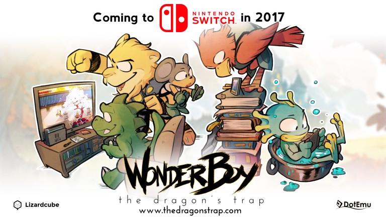 Wonder Boy The Dragon's Trap daté sur Switch
