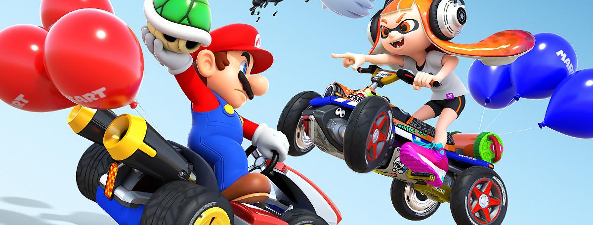 Mario Kart 8 Deluxe passe en version 1.2.1