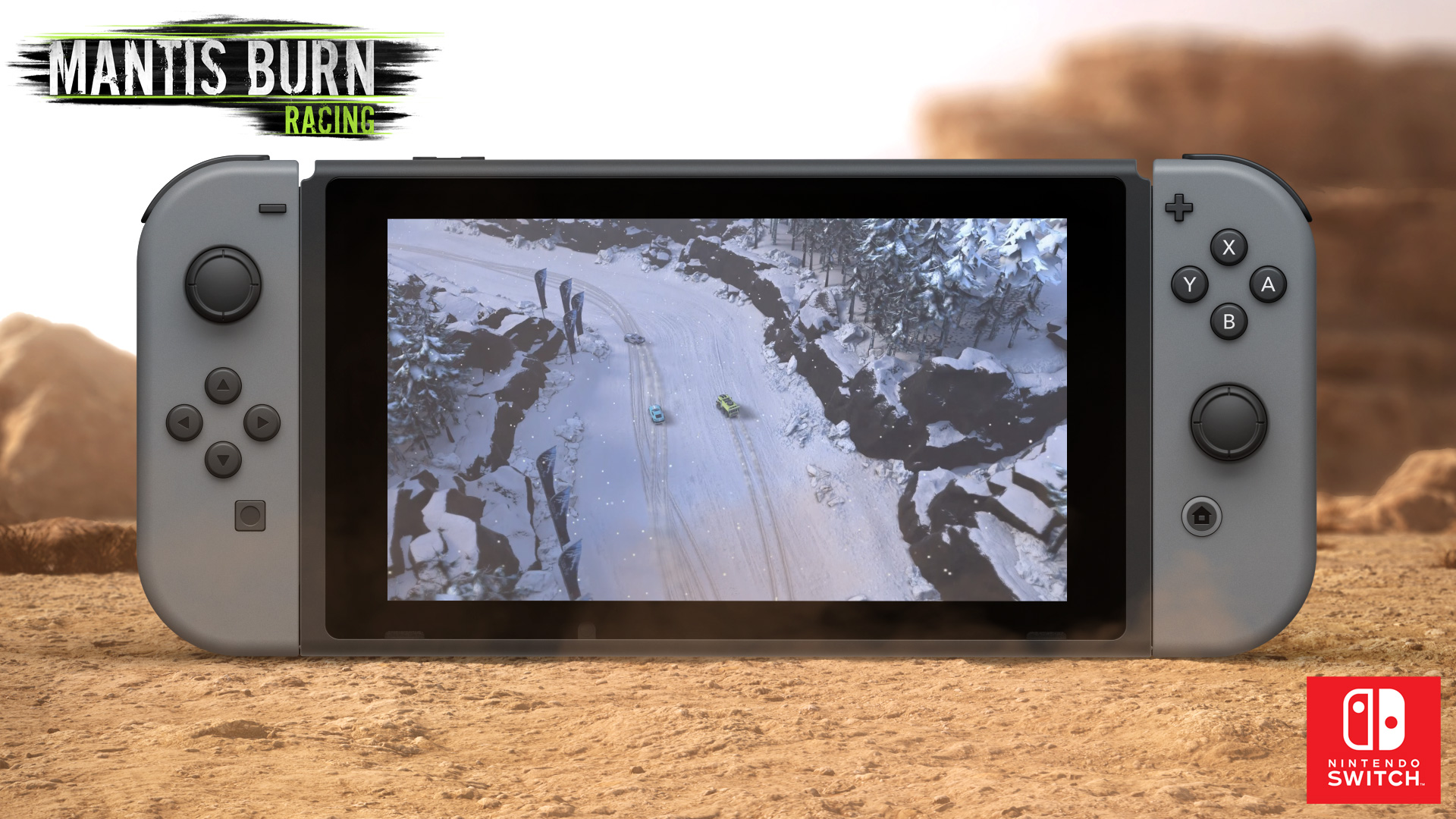 Du cross-play pour Mantis Burn Racing sur Switch