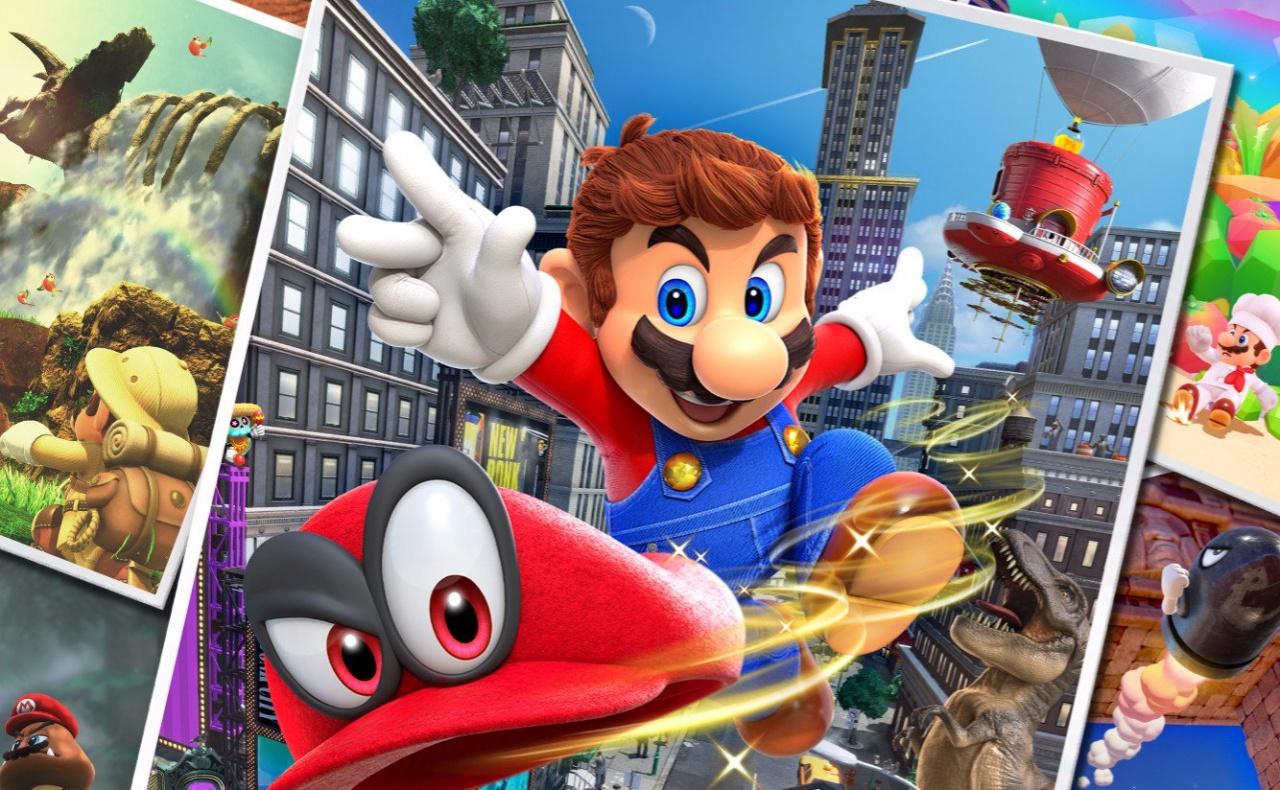 Super Mario Odyssey disponible en pré-chargement sur eShop
