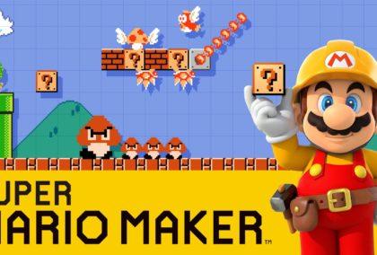 Super Mario Maker mis à jour sur Wii U et 3DS