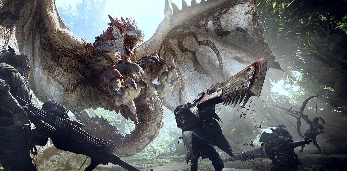 Monster Hunter World sur Switch Difficile selon Capcom