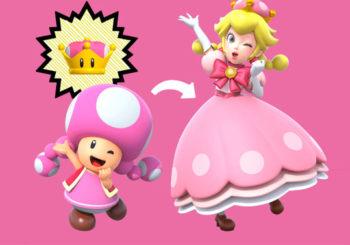Quand Peachette sauve Peach dans New Super Mario Bros. U Deluxe