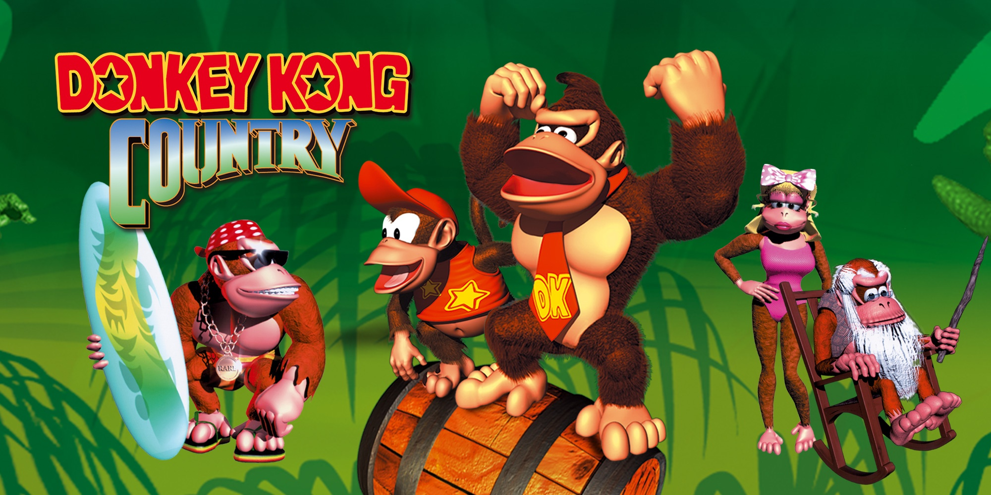 Donkey Kong Country débarque dans le catalogue SNES du Nintendo Switch Online